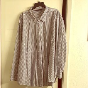 Over size casual dress shirt